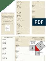math broshure
