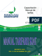 Manual de Tarifas Parte I