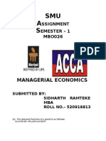 Managerial Economics Complete