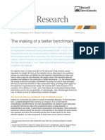 Making of a Better Benchmark