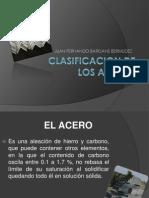 Clasificación-Aceros