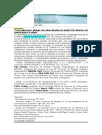Boletín FADECCOS_2014