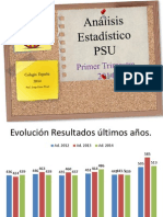 Análisis Estadístico 2° Medio