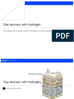 Gas & Oil Recovery With Hydrogen