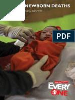 Ending Newborn Deaths Report