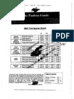 Paulson & Co. 3Q Letter