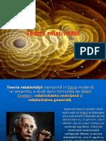 Teoria relativitătii