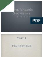carl valdes geometry glossary