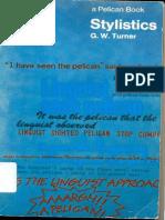 Stylistics G W Turner