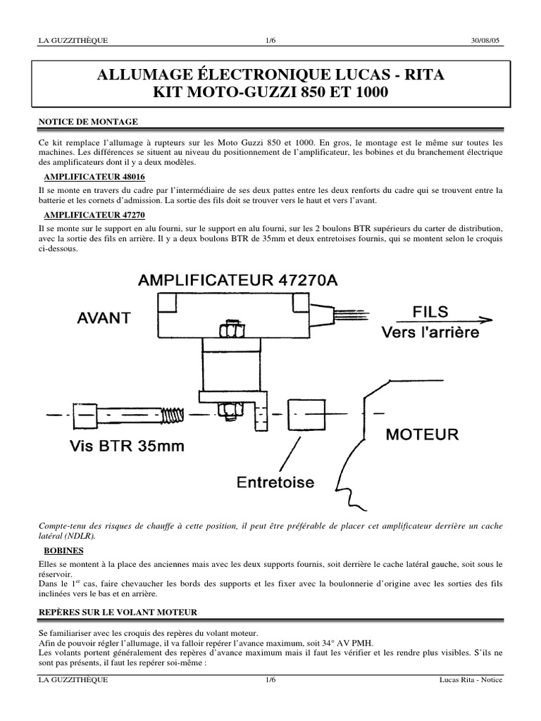 lucas rita notice maj 01 ignition system electrical connector International Truck Ignition Wires Diagram lucas rita electronic ignition wiring diagram