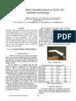 5-DOF Manipulator Simulation Based on MATLAB Simulink Methodology