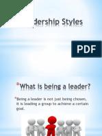 leadership styles powerpoint