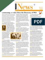History of PKU