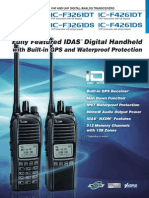 Radio Portatil IC-F3261DS