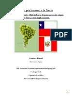 Pisco Por La Razon o La Fuerza El Debate Entre Perú y Chile Sobre