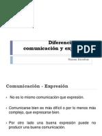 116182299 3 Diferencia Entre Comunicacion y Expresion ICC