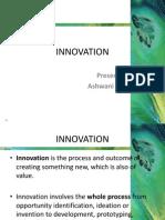 Innovation Ashwani