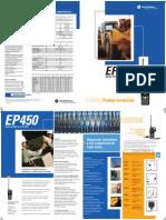 EP450 CS Pantalla