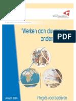 Werken aan duurzaam ondernemen (GOM 2006)
