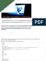 42 Ejercicios Resueltos en Ensamblador 8086 – Programación