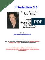 Speed Seduction 3 Disc Nine