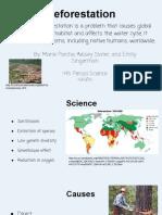 deforestation tap - google slides