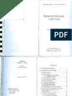 Husserl -i Parte - Ed Del Orto