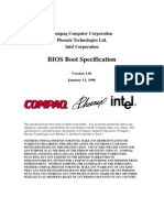 BIOS Boot Specification