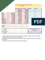 Ejercicio Excel 3