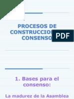 Taller Consenso y Facilitación