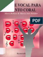 Higiene Vocal Para O Canto Coral - Mara Behlau & Maria Inês Rehder