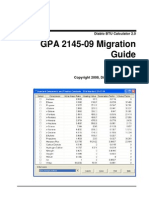 GPA 2145-09 Migration Guide