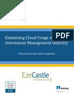 2013 Cloud Usage Survey Report