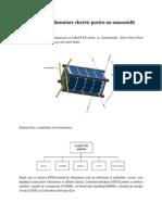 sistem enegetic satelit