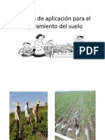 mtodos de aplicacin para el mejoramiento del suelo