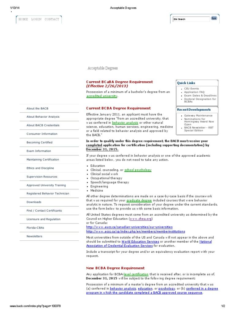 Ausgezeichnet Bcaba Certification Bilder - zertifizierungsstelle ...