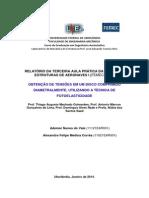 Relatório de Estruturas de Aeronaves - Laboratório III - Fotoelasticidade