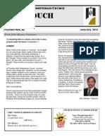 June July Newsletter 2014