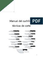 Manual Del Cuchillo y Tecnicas de Corte