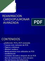 Clase RCP avanzada