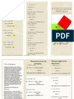 pythagorean theorem math pdf