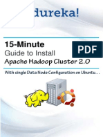 15 Minute Guide to Install Hadoop Cluster