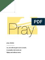 Pray, Wisdom