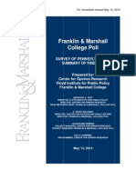 May 2014 Franklin & Marshall Poll