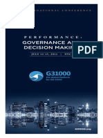 G31000 Conference Brochure, New York - June 2014