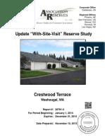 crestwood terrace reserve study-2013