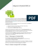Instalar y Configurar El Android SDK en Windows