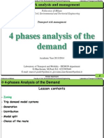 4 Phases Analysis of the Demand