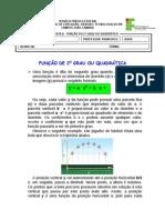 Sétima Apostila - Função de Segundo Grau (19)