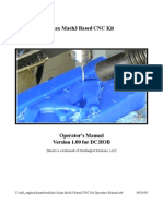 Ajax Mach3 Based CNC Kit Operators Manual
